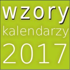 Wzory kalendarzzy 2017 2